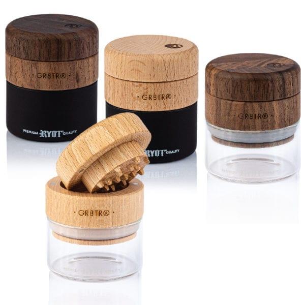 Wood GR8TR with Jar Body