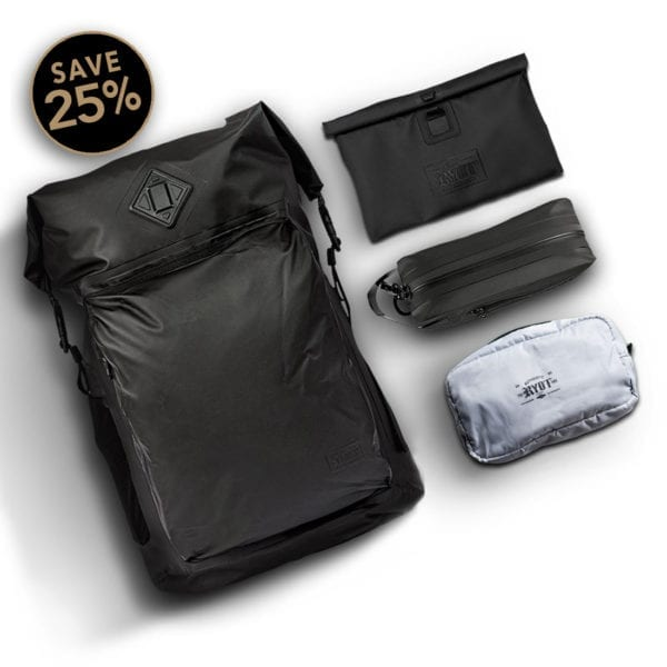 SMELL PROOF Storage and Travel Bags Bundle