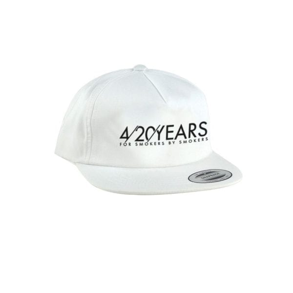 RYOT 4-20 Years Unconstructed Hat – White