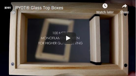 Glass Top Screen Boxes