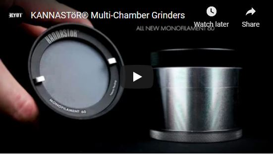 4pc Clear Top Grinders